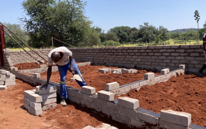 Dambale Pre-School: rising from the dust